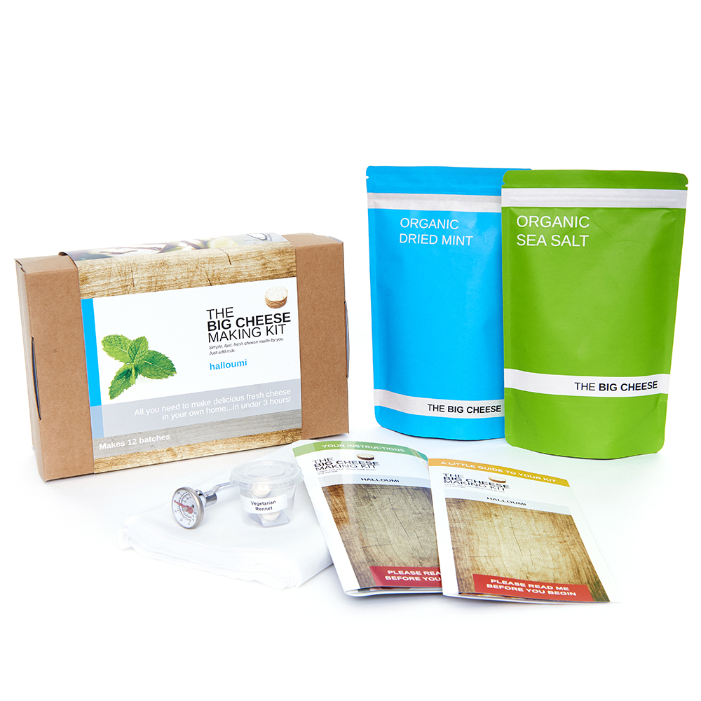 The Big Cheese Halloumi Cheese Making Kit