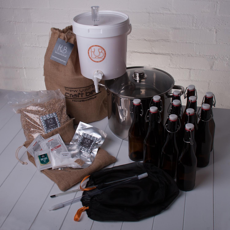 The Homebrewtique Complete Craft Brewing Starter Kit