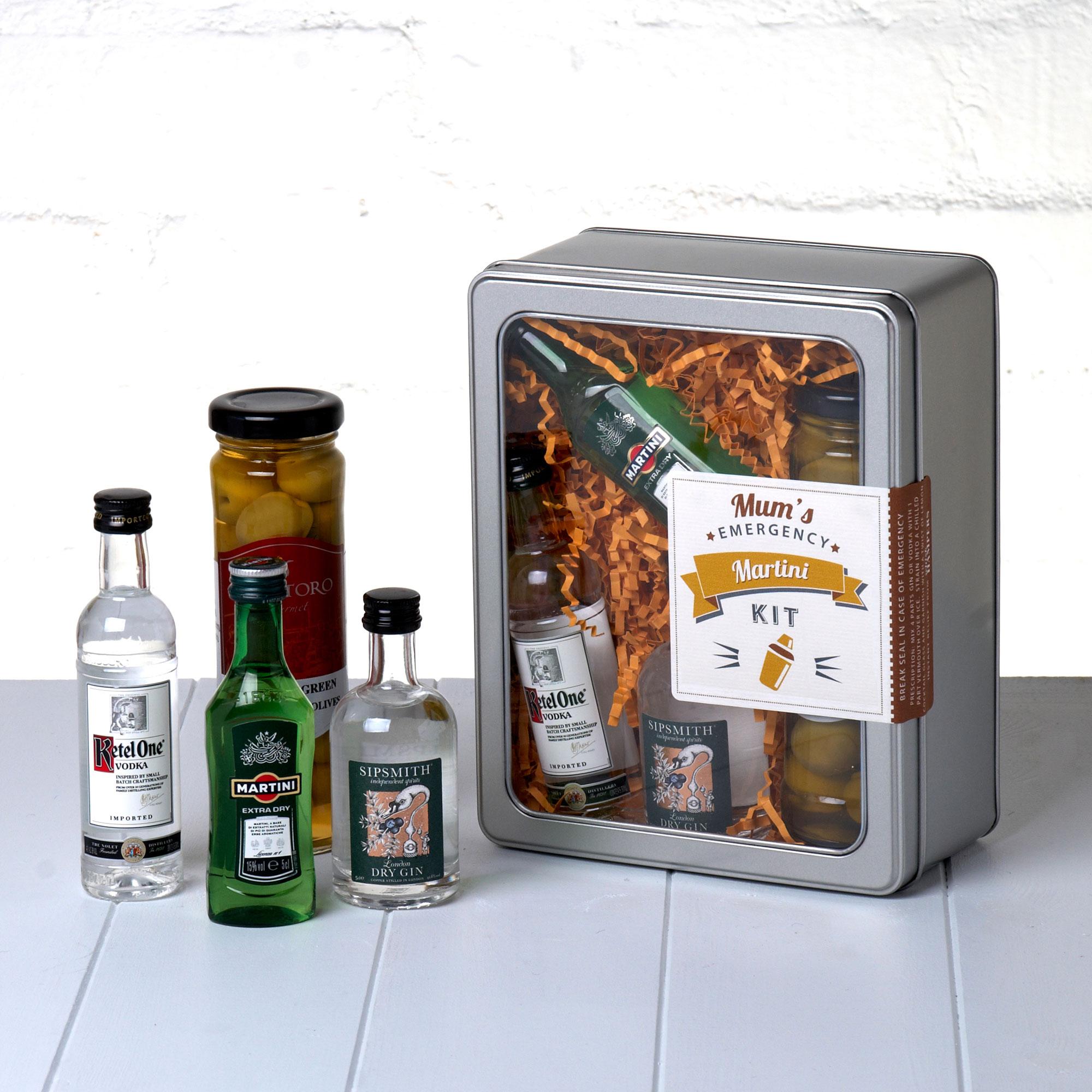 Mums Emergency Martini Kit