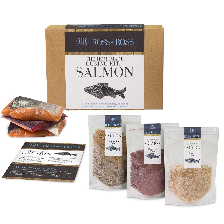 Hampers Ross & Ross Homemade Salmon Curing Kit