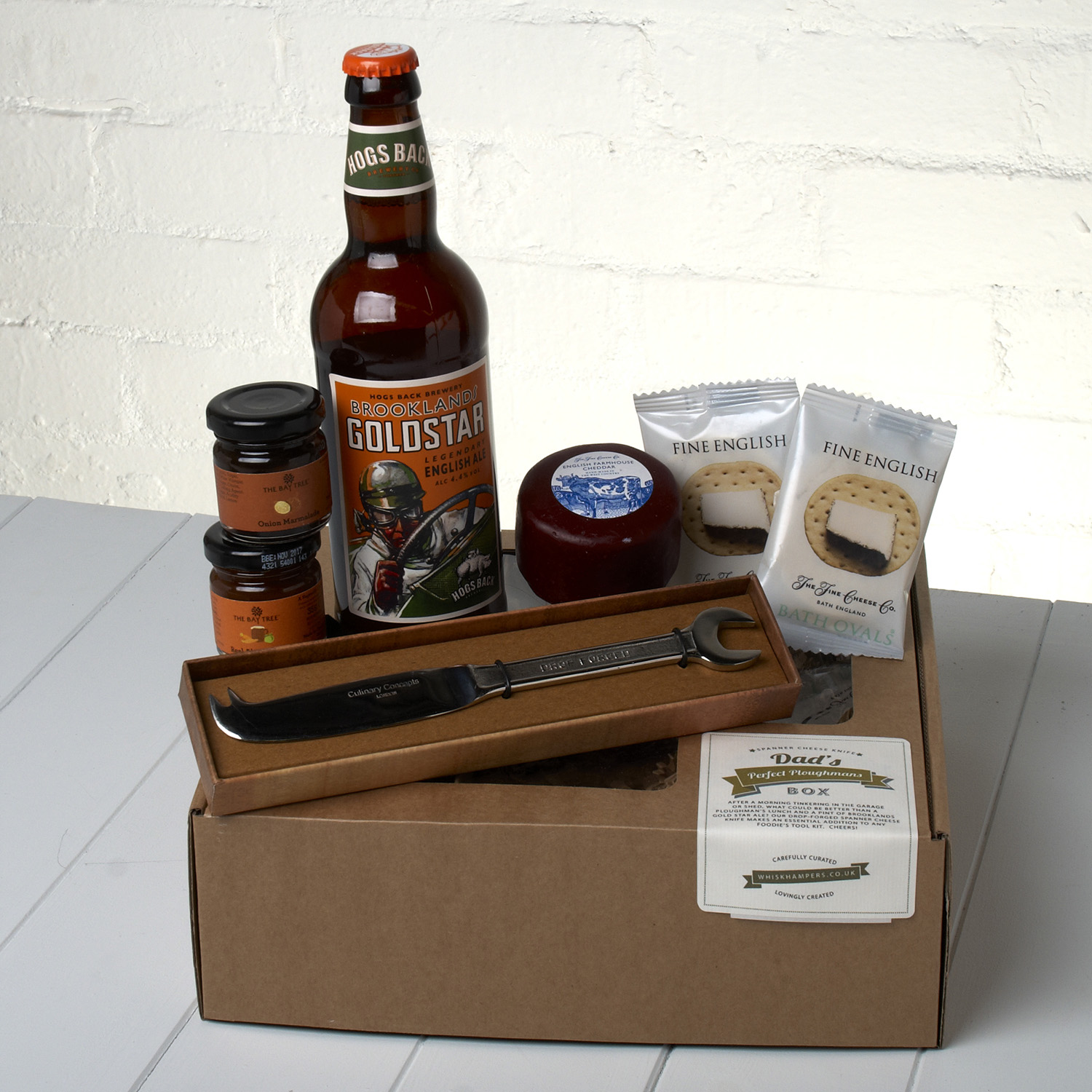 Ploughman's Gift Set with Spanner Classic Knife