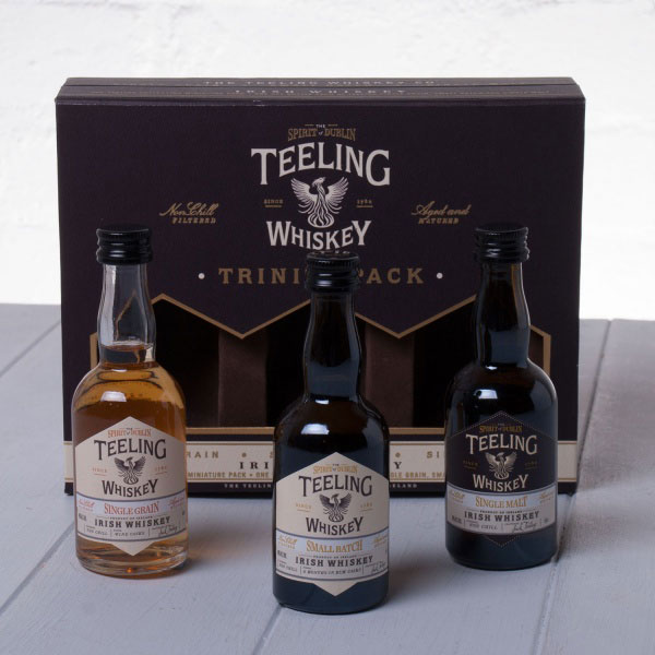 Hampers Teeling Whiskey Co. Teeling Collection Trinity Gift Pack