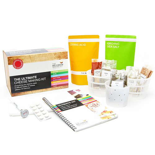 The Big Cheese Ultimate Cheese Making Kit