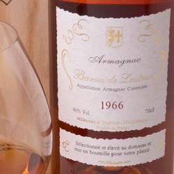 1966 Armagnac Baron De Lustrac Brandy 70cl Whisk Hampers-32