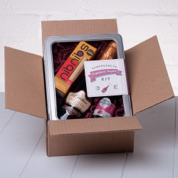 Emergency Framboise Royale Kit by Whisk Hampers