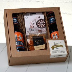 Our Craft Lager 'Pop Up Pub' Box brings the local to their Door!