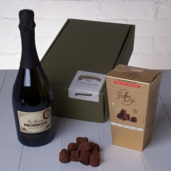 The Perfect Prosecco and Chocolate Truffles Gift Box Whisk Hampers-31