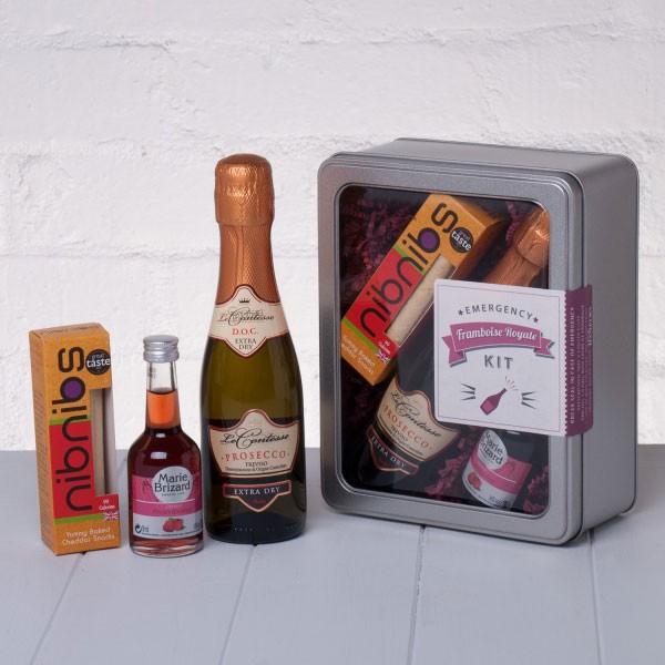 Emergency Framboise Royale Kit by Whisk Hampers
