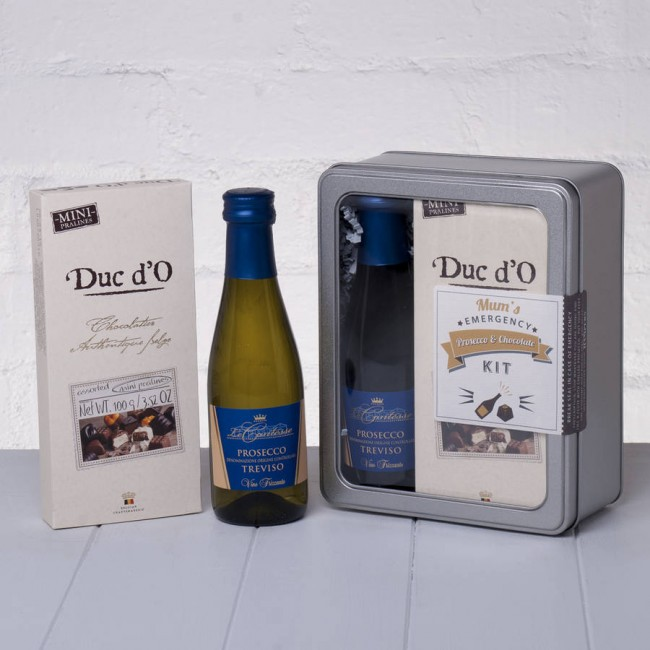 Mums Emergency Prosecco and Chocolate Kit Whisk Hampers-31
