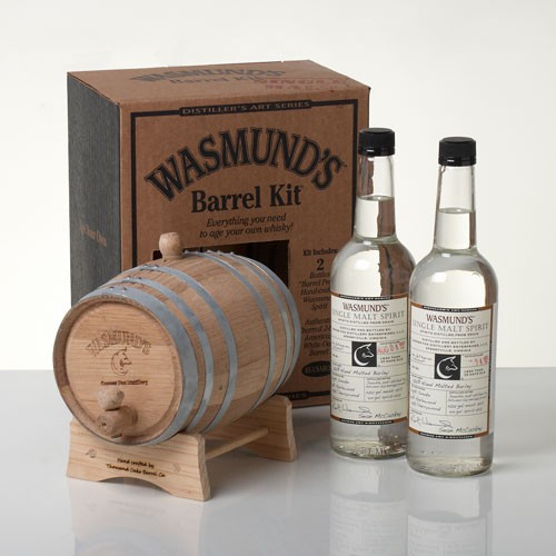 Everything you need to age your own Whisky!