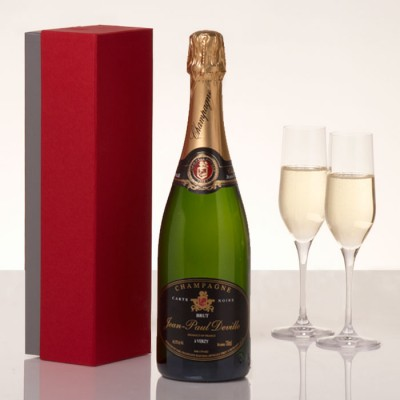 Jean-Paul Deville Carte Noire Champagne 75cl in Gift Box
