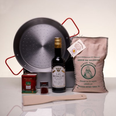 The Perfect Paella Kit with Manzanilla Sherry