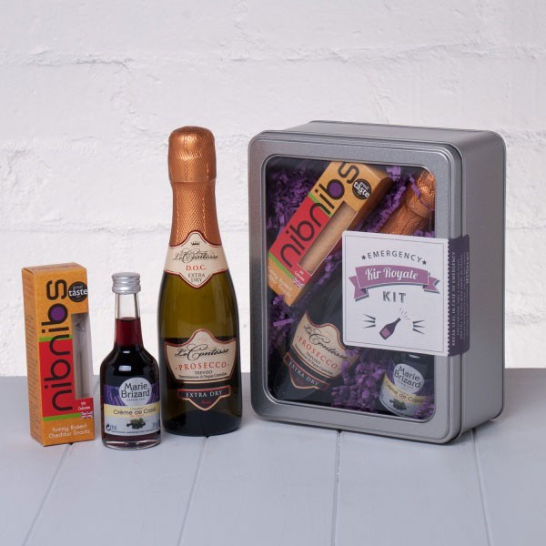 Emergency Kir Royale Kit by Whisk Hampers