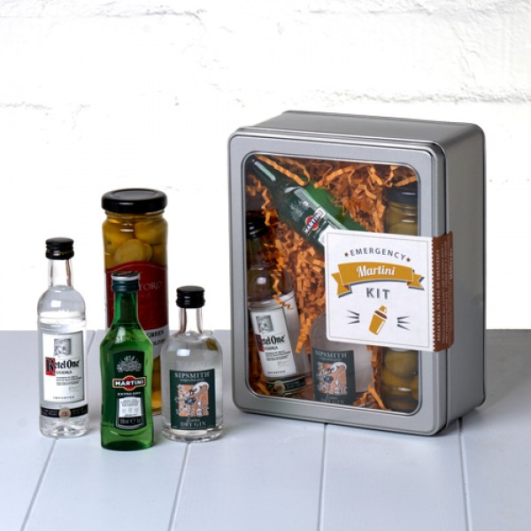 The Classic Martini Cocktail in kit form
