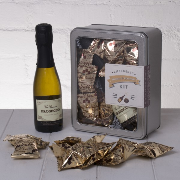 Emergency Prosecco and Chocolate Kit Whisk Hampers-20