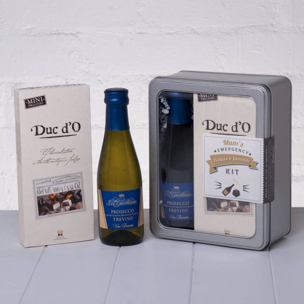 Mums Emergency Prosecco and Chocolate Kit Whisk Hampers-20