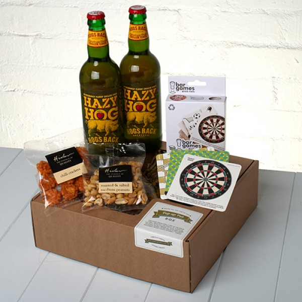 Our Craft Cider 'Pop Up Pub' Box brings the local to their Door!