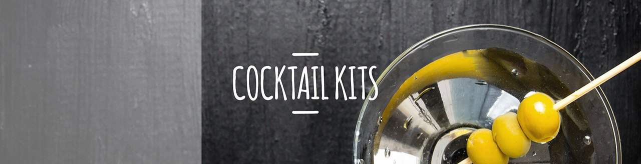 Cocktail Kits by Whisk Hampers