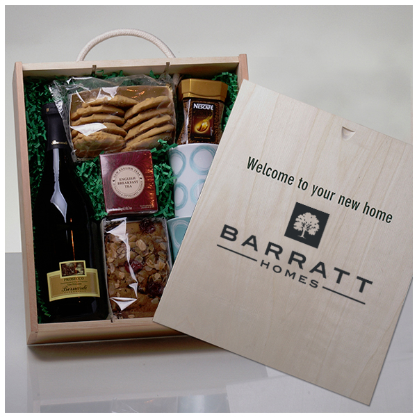 Bespoke Hamper for Barratt Homes