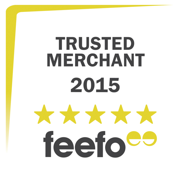 Feefo Gold Merchant Award