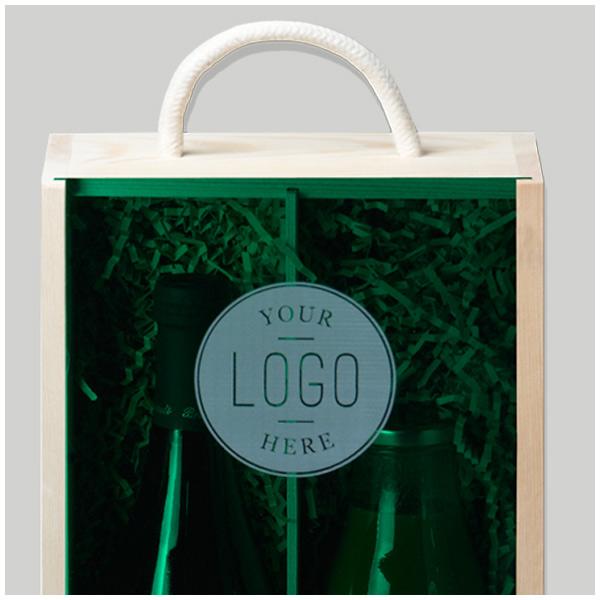 Laser Engraved Logo Lids